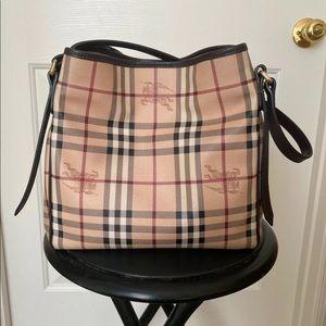 Authentic Burberry handbag, mint condition,